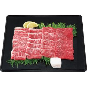 【三重県】松阪牛 焼肉用セット 計380g(バラ200g、モモ180g)