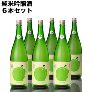 日本酒 純米吟醸 穏(おだやか)1800ml×6本セット 蔵元仁井田本家