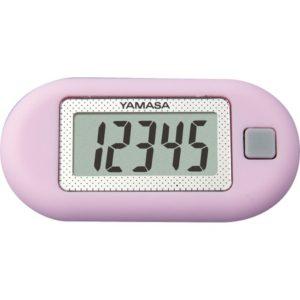 【山佐時計計器】ヤマサポケット万歩 (ラベンダー) 歩数表示のみで、かんたん操作3D加速度センサー採用