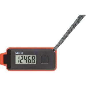 【タニタ】3Dセンサー搭載歩数計歩イッスル (ブラック) 緊急ホイッスル付