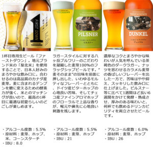 ビール 八ヶ岳ビール タッチダウン 6種飲み比べセット 山梨県_02