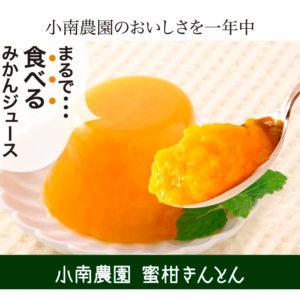 蜜柑きんとん(寒天ゼリー) セット 110g×6個 みかんゼリー