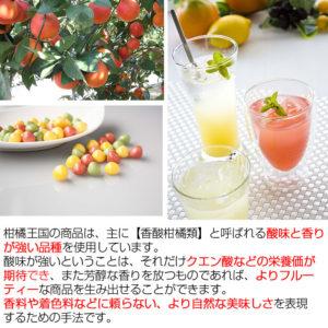 柑橘王国 飲む酢&食べる酢グミセット_03
