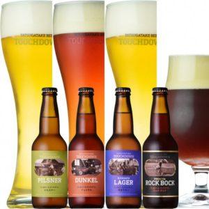 クラフトビール「八ヶ岳ビール タッチダウン」4種24本飲み比べ_02