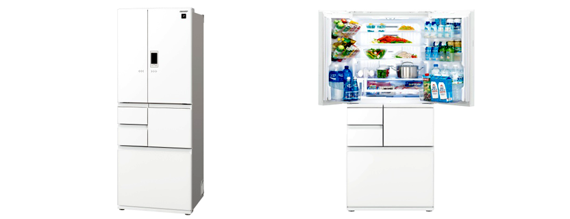 【SHARP】プラズマクラスター冷蔵庫 502L フレンチドア6ドア(SJ-GA50E)