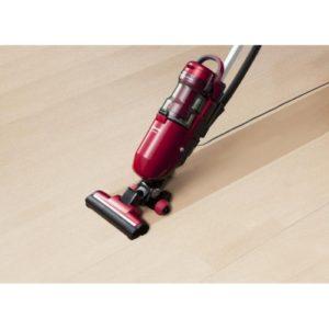 【パナソニック】スティック掃除機 レッド2