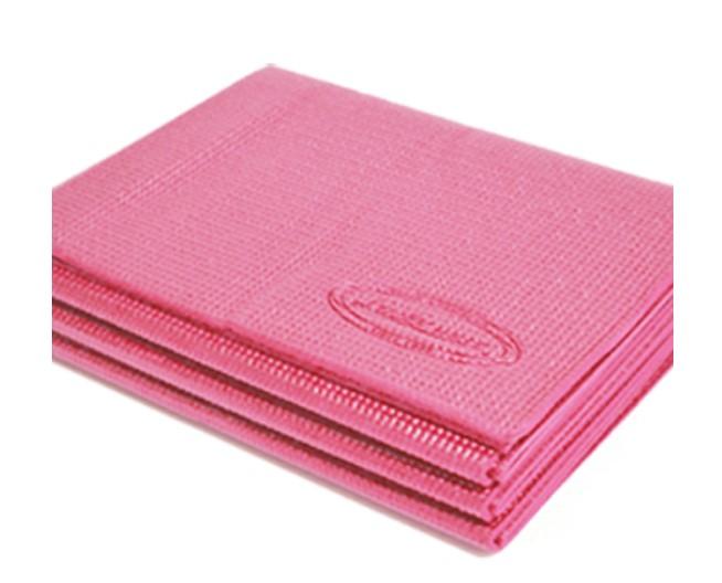 【アレック】ラッキーウエス-折り畳みヨガマット(ピンク)